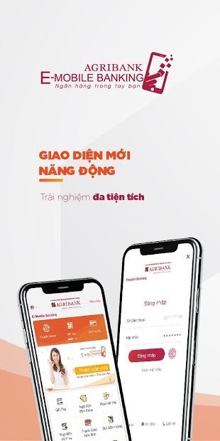 Screenshots Agribank E-Mobile Banking: Ứng dụng ngân hàng điện tử