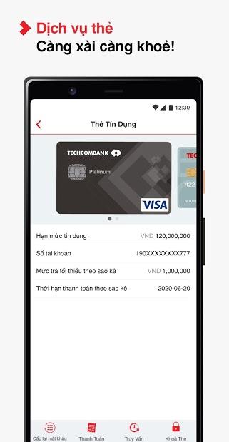 Screenshots F@st Mobile - Ứng dụng chuyển tiền của teckcombank