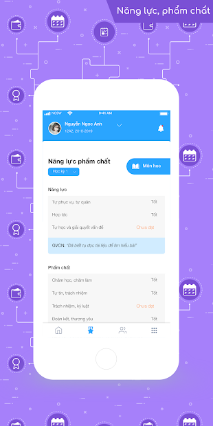 Screenshots PINO - Sổ liên lạc online: Ứng dụng theo dõi tình trạng học tập của học sinh hiệu quả