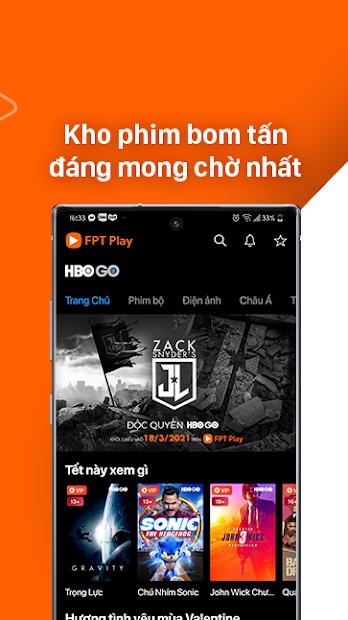 Screenshots FPT Play - TV Online - Ứng dụng xem truyền hình online FPT Play