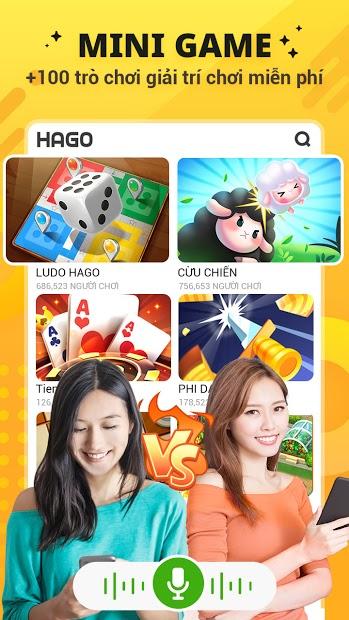 Screenshots Hago - Chơi cùng bạn mới: Nơi giải trí và giao lưu với bạn bè mới