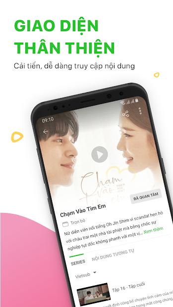 Screenshots Zing TV – Xem phim mới HD
