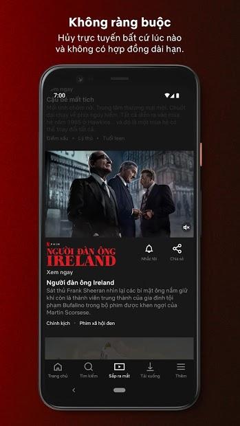 Screenshots Netflix - Ứng dụng xem phim mới, chiếu rạp, cập nhật mỗi ngày