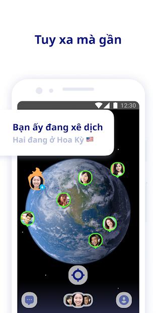 Screenshots Ứng dụng Zenly: Định vị vị trí bạn bè, người thân, nhóm