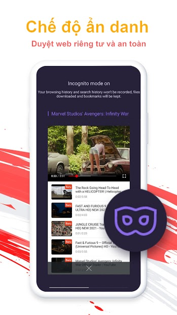 Screenshots UC Browser - Trình duyệt web nhanh và miễn phí