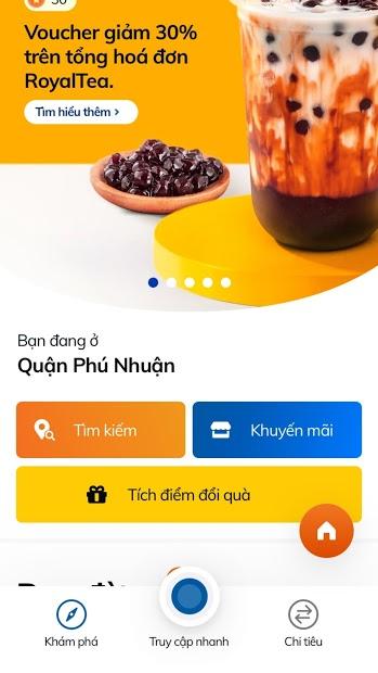 Screenshots Sacombank Pay - Phần mềm thanh toán online của Sacombank