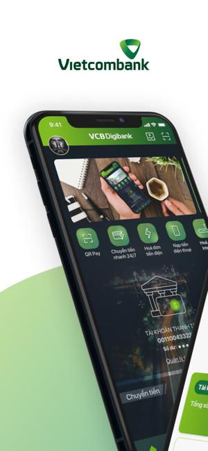 Screenshots Vietcombank - Ứng dụng ngân hàng Vietcombank