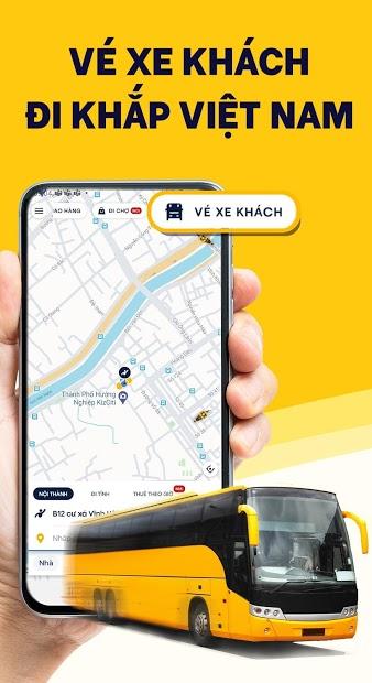 Screenshots be - Ứng dụng gọi xe Việt