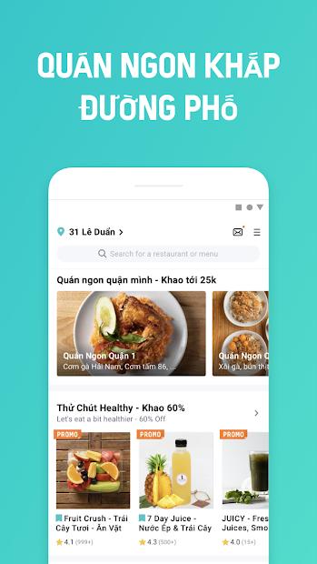 Screenshots BAEMIN - Ứng dụng giao đồ ăn nhanh chóng