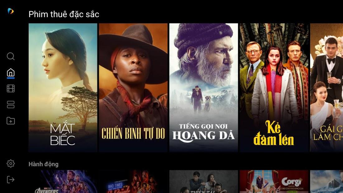 Screenshots Fim+ - Ứng dụng xem phim chất lượng cao