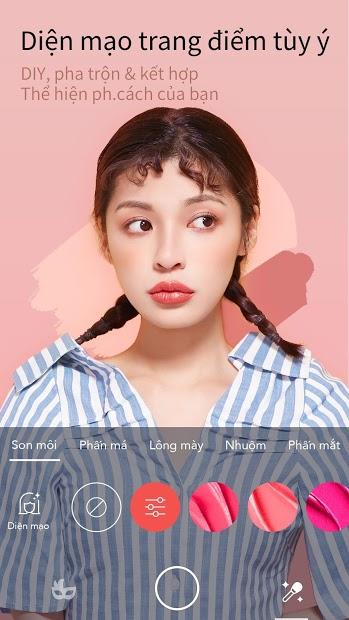 Screenshots MakeupPlus: Ứng dụng chụp ảnh selfie hoàn hảo cho bạn