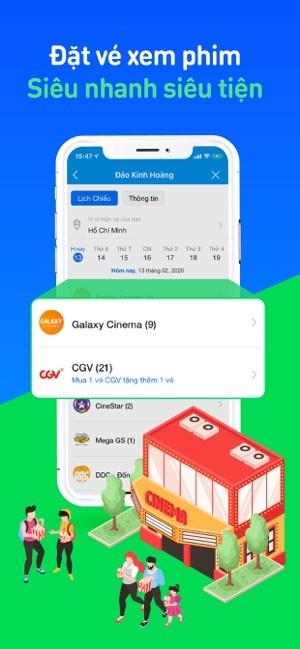 Screenshots ZaloPay - Thanh toán trong 2s - Ứng dụng thanh toán trực tuyến