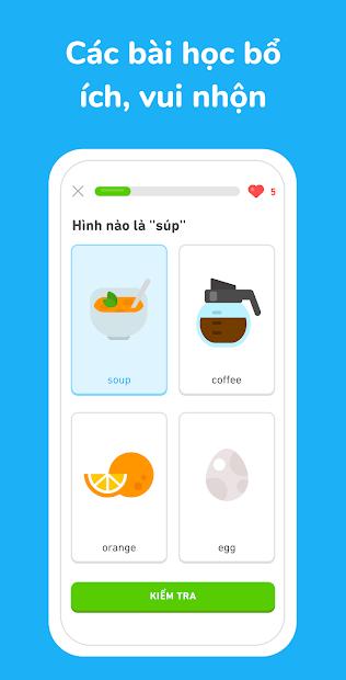 Screenshots Duolingo: Tải ứng dụng hoc Tiếng Anh miễn phí cho mọi lứa tuổi