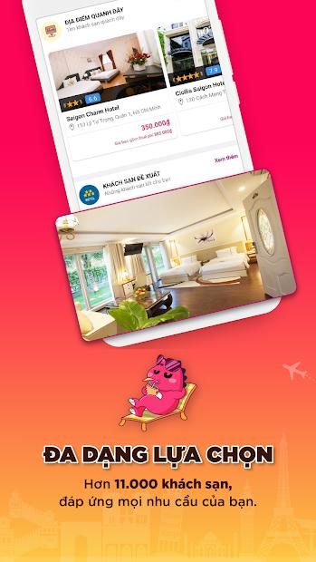 Screenshots Dinogo - Đặt vé máy bay, khách sạn, tour du lịch