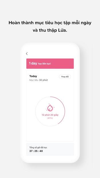 Screenshots Cake- Học tiếng anh giao tiếp miễn phí