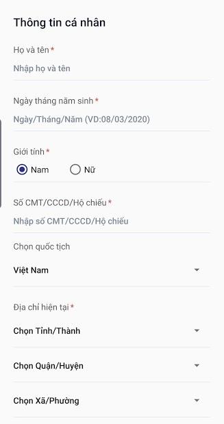 Screenshots Tải NCOVI: Ứng dụng truy vết COVID-19, khai báo y tế cách ly