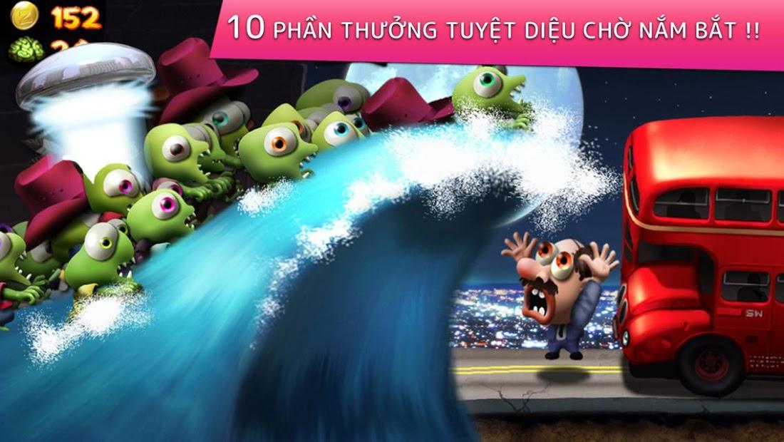 Screenshots Zombie Tsunami - game sóng thần zombie vui nhộn