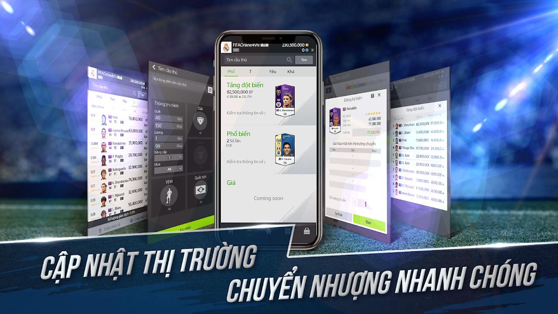 Screenshots FIFA Online 4M by EA SPORTS™ - Quản lý đội bóng FIFA 4 trên Smartphone