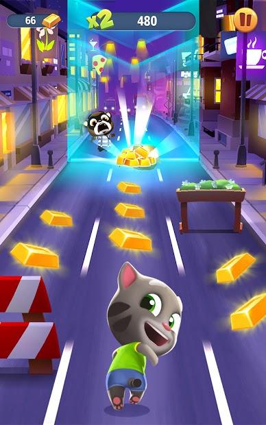 Screenshots Talking Tom Gold Run - Truy đuổi gấu mèo