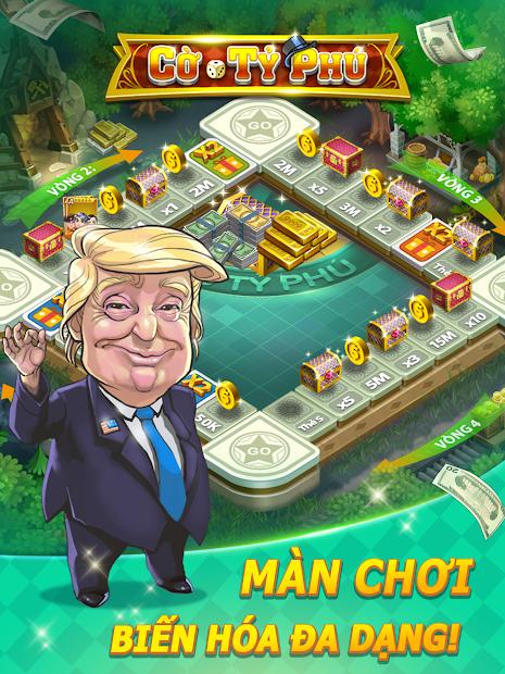 Screenshots ZingPlay - game chơi Cờ Tỷ Phú huyền thoại