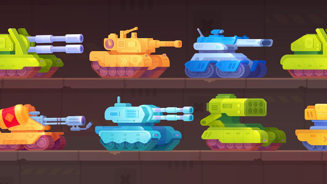 Screenshots Tank Stars - Cuộc chiến xe tăng