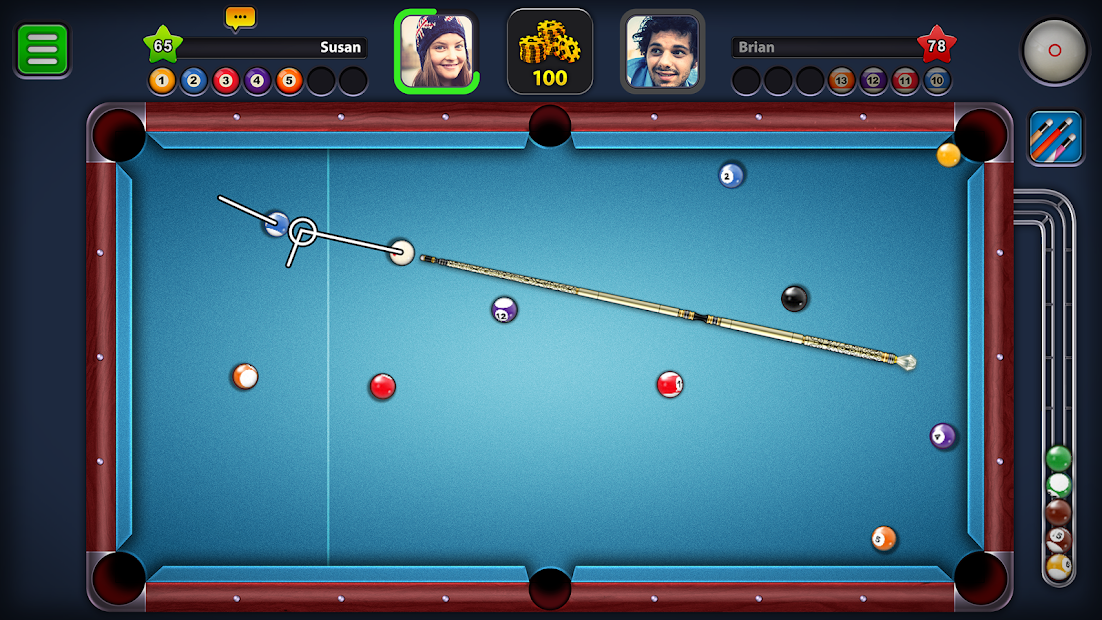 Screenshots 8 Ball Pool: Trò chơi Bida đỉnh cao - nơi thể hiện kỹ năng của bạn