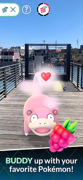 Screenshots Pokémon GO - Thu Phục Pokemon ngoài đời thực