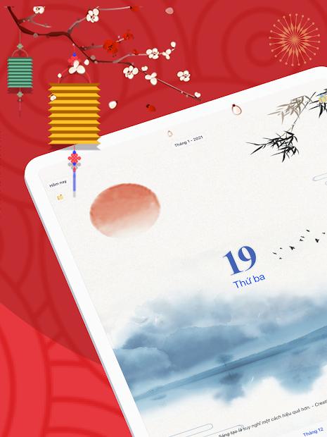 Screenshots Lịch Vạn Niên 2021 - Lịch Âm
