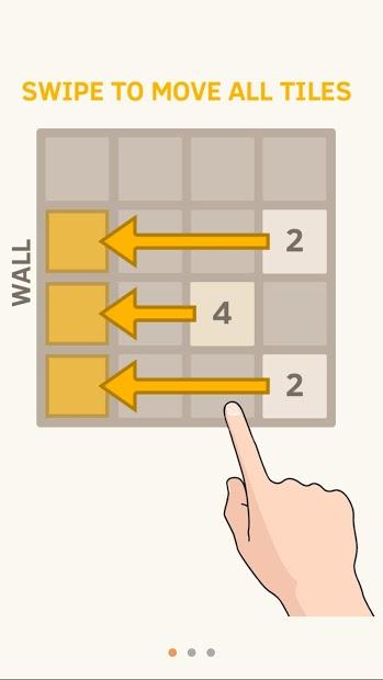 Screenshots Game 2048 - Trò chơi kết hợp số kinh điển