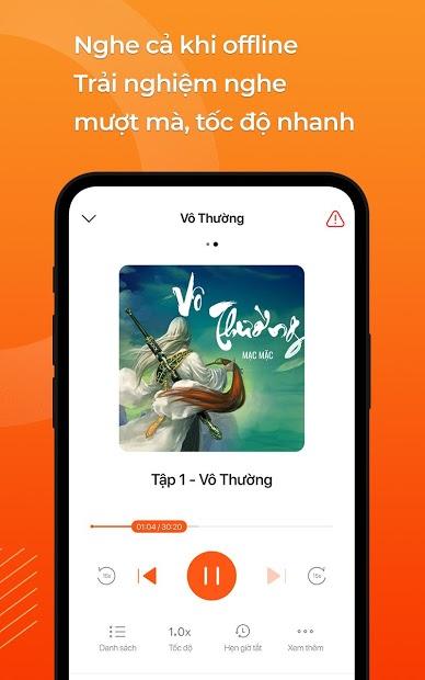 Screenshots TuneFM - Nghe Radio & Audio Truyện