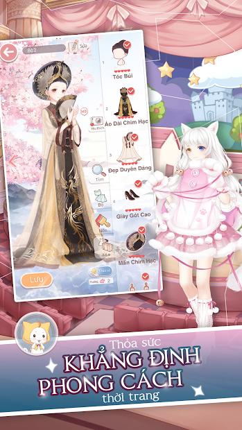 Screenshots Ngôi Sao Thời Trang 360Mobi - Nữ hoàng thời trang