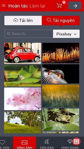 Screenshots OPLUNGVN: Tự do sáng tạo ốp lưng cho điện thoại của bạn