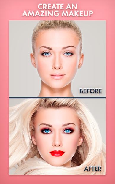 Screenshots Makeup Photo Editor-  Biên tập trang điểm