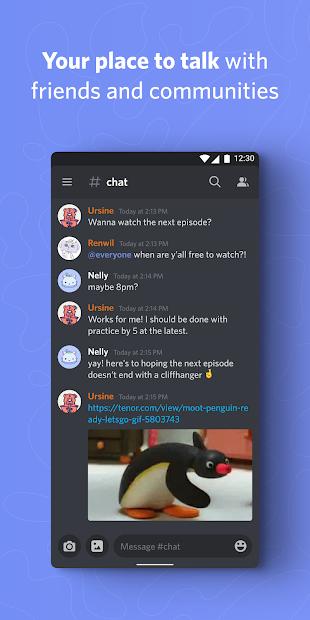 Screenshots Discord - Cộng đồng Game thủ toàn cầu