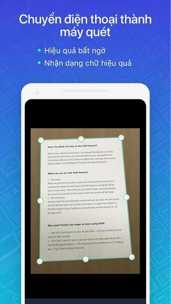Screenshots CamScanne - Máy quét ảnh, quét thành pdf, miễn phí