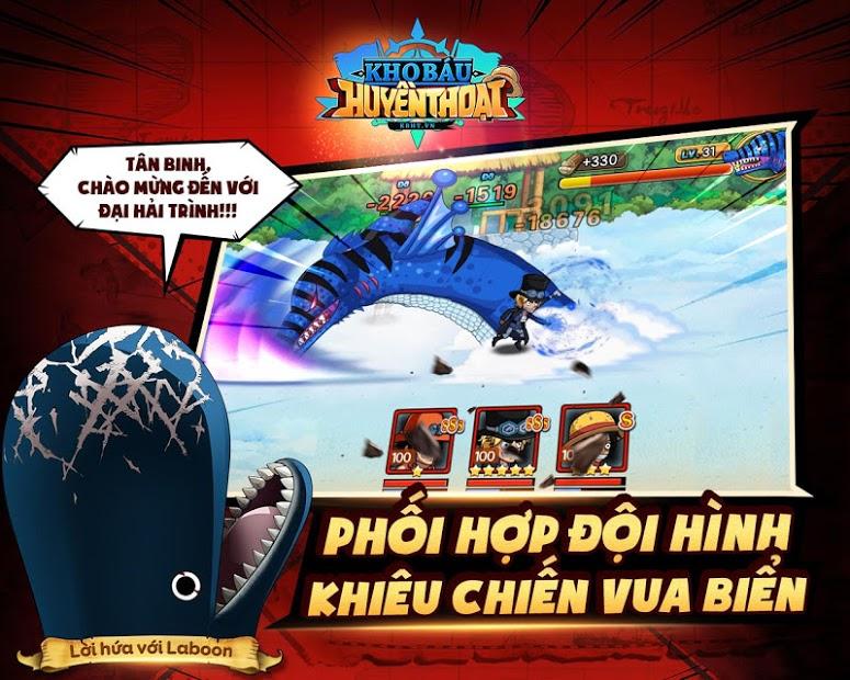 Screenshots Kho báu huyền thoại - Truy tìm kho báu One Piece