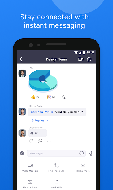 Screenshots ZOOM Cloud Meetings - Tạo cuộc họp, học online
