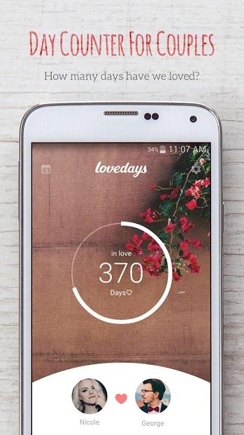 Screenshots inlove - Ứng dụng đếm ngày yêu, nhận thông báo ngày kỷ niệm