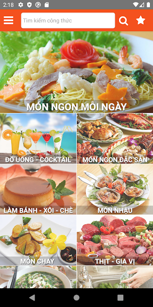 Screenshots Sách Nấu Ăn - 365 món ăn ngon mỗi ngày offline