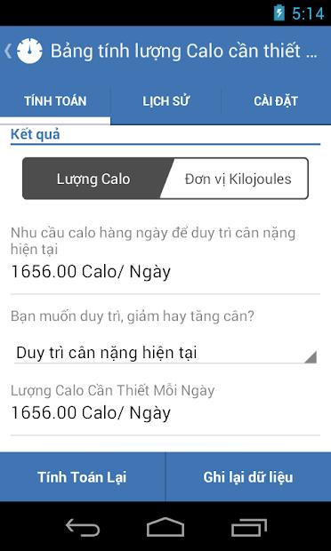Screenshots Weight Calorie Watch: Ứng dụng tính calo, quản lý chỉ số cơ thể, calo