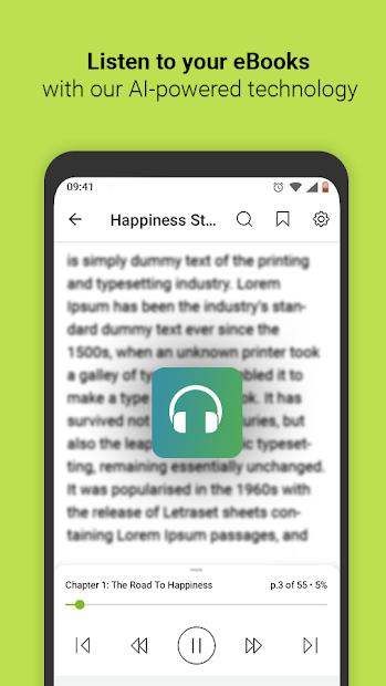 Screenshots Media365 Book Reader - Ứng dụng đọc sách điện tử