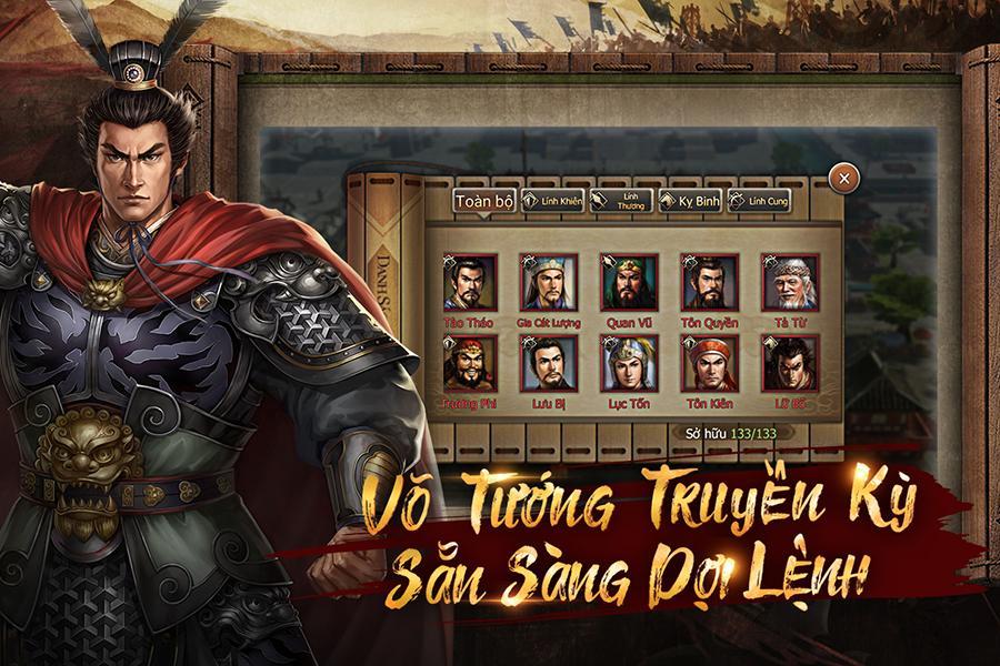Screenshots Tân Tam Quốc Chí - Game chiến thuật bàn cờ hấp dẫn dành cho mobile