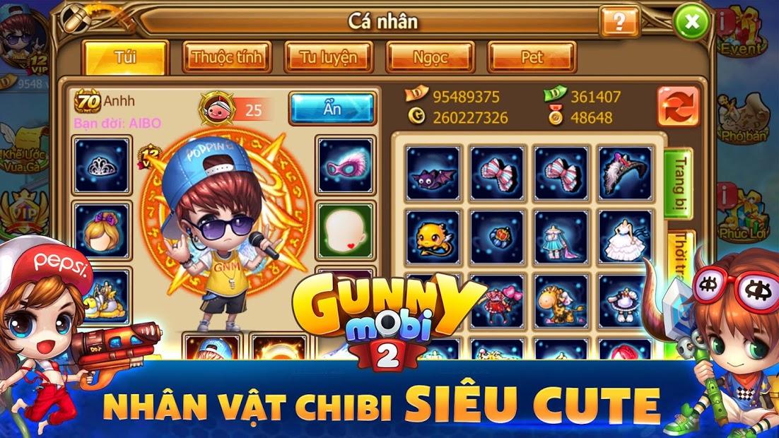 Screenshots Gunny Mobi - Game bắn Gà Teen & Chibi