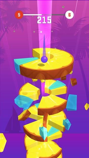 Screenshots Helix Crush - Chặt trái cây
