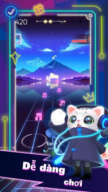 Screenshots Sonic Cat - Nhịp điệu tan chảy