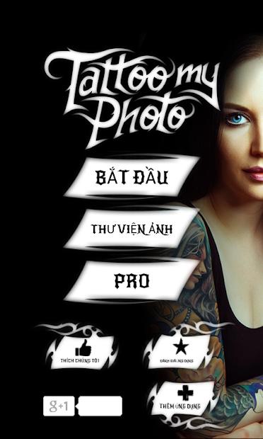 Screenshots Tattoo my Photo 2.0 - Chèn hình xăm vào ảnh