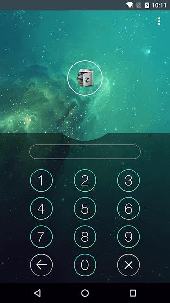 Screenshots AppLock - Đặt mật khẩu khóa ứng dụng trên điện thoại Android