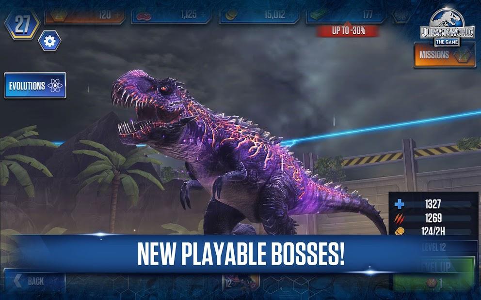 Screenshots Jurassic World™: The game - Game xây dựng công viên khủng long