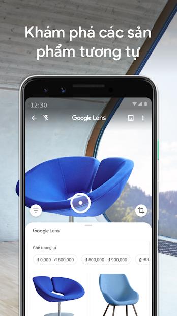 Screenshots Google Ống kính - Google Lens: Dịch văn bản, nhận diện đồ vật