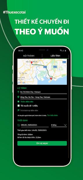 Screenshots MIOTO - Ứng dụng thuê xe ô tô giá rẻ, nhiều xe